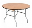 5ft Round Trestle Tables hire item