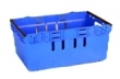 Blue Stacking Crate hire