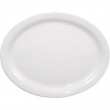 12 Inch White China Oval Platter hire