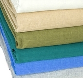 Coloured rectangular linen tablecloth hire item