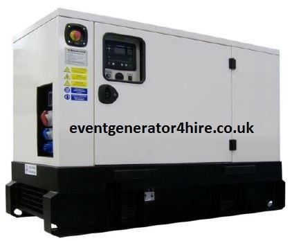 20 Kva Generator hire